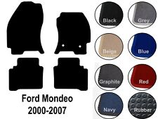 Ford Mondeo (2000 to 2007) New Fully Tailored Carpet Car Floor Mats