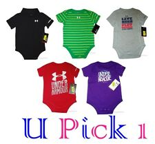 BOYS GIRLS UNDER ARMOUR BODYSUIT SPORTS ATHLETIC CHILDREN KIDS CLOTHES SUMMER