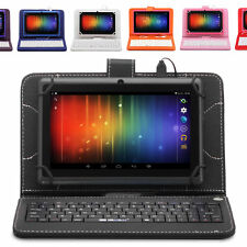 "IRULU 8GB 7"" Tablet PC Google Android 4.2 Jelly Bean Dual Core Cam w/ Keyboard"