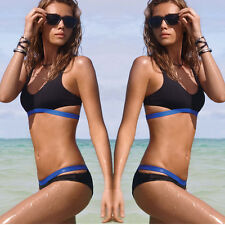 Women Sexy Push up Bandage Bikini Set Padded Swimwear Swimsuit Racerback Bathing