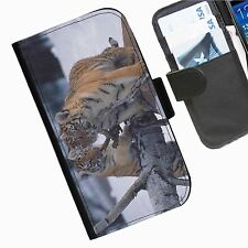 Cat Leather wallet personalised phone case for Samsung Galaxy Ace Plus, Ace II