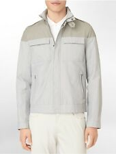 calvin klein mens body slim fit 4-pocket jacket