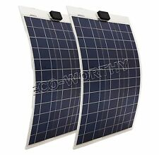 200W 100W 80W 40W 20W 10Watt poly semi-flexible solar panel for yacht boat RV