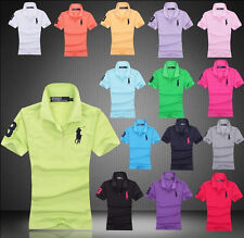 New men's short sleeve T-shirt lapel Polo shirt S--2XL