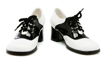 Low Cut Lace Up Pu Leather Oxford Saddle Footwear Mid Heels Shoes Child Girls