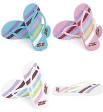 Ladies Urban Beach Swoosh Flip Flops - Sizes UK 3 - 8