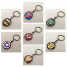 Fashion Avengers Super Heroes Action Figures Series Keychain Keyring Keyfob Toy