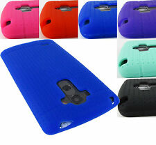 FOR LG G STYLO LS770 / G4 STYLUS SOFT SILICONE RUBBER GEL SKIN CASE COVER+STYLUS