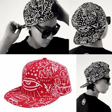 New Men Unisex Dope Bboy Adjustable Snapback Baseball Hat Hip Hop Cap