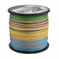 4S&8S 100M 300M 500M 1000M Multicolor Spectra PE Dyneema Braid Test Fishing Line