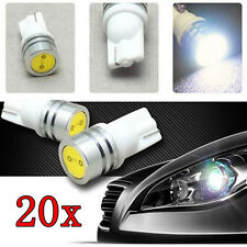 T10 194 501 168 W5W High Power LED Car 1W Wedge Interior Side Number Light Bulb