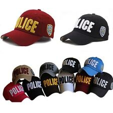 5Color Woman Police Officer Law Enforcement Cop Costume Baseball Ball Cap Hat