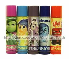 *LIP SMACKER Balm/Gloss DISNEY INSIDE OUT Scented/Flavored EMOTIONS *YOU CHOOSE*