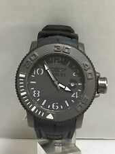 Men's Invicta 1078 Grey Polyurethane Automatic Grey Dial Watch