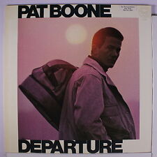 PAT BOONE: Departure LP (WLP, Ry Cooder involvement, promo toc, disc like new!)