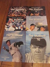 NEW YORK DAILY NEWS COMMEMORATIVE THE STADIUM COMPLETE SET PARTS 1-6 NY YANKEES