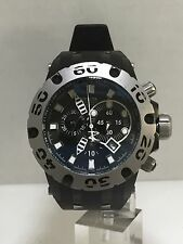 Men's Invicta 10912 Black Polyurethane Specialty II Black Chronograph Dial Watch