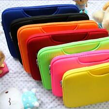 "7 Colors Soft Sleeve Bag Case Briefcase Handlebag Pouch Cover for 13"" Laptop"