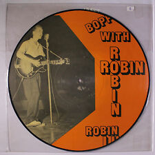 ROBIN LUKE: Boppin' With LP (Mono, pic disc, corner dings) Rockabilly