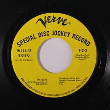 WILLIE BOBO: 1-2-3 / Sockit To Me 45 (dj) Soul