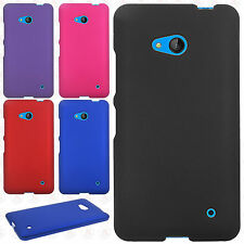 For Cricket Nokia lumia 640 Rubberized HARD Protector Case Snap On Phone Cover