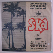 VARIOUS: Ska From The Valuts Of Wirl Records LP (UK) Reggae
