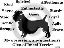 Glen of Imaal Terrier Dog My Obsession,any questions? Sweatshirt original!