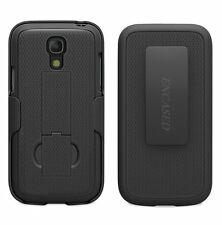 Samsung Galaxy S4 BELT CLIP HOLSTER Shell Combo Case  With Kickstand by ENCASED®
