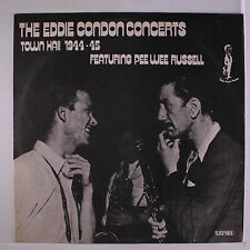 EDDIE CONDON: The Eddie Condon Concerts LP (Brazil, disc close to M-, small tob