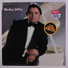 MICKEY GILLEY: Fool For Your Love LP Sealed Country