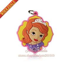 1PCS Princess Snow White Sofia Doc McStufins Charms pendants For Keychains Gifts