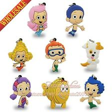 1PCS Bubble Guppies PVC Pendants Charms Fit for Keychains & necklace,Kid Gifts