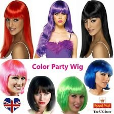 Ladies Short Long Curly Fancy Dress Full Wigs Straight Cosplay Costume Wig Party