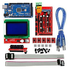 Arduino Ramps 1.4+Mega2560+A4988+12864 LCD Controller for 3D Printer Kit Reprap