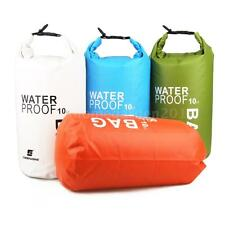 10L Waterproof Dry Bag Pouch Pack Camping Boating Kayaking Rafting Canoeing