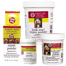 GIMBORN - Kwik Stop Styptic Powder - Dog Cat & Bird Nail Care 3 Sizes Available!