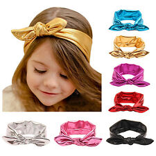 Baby Girls Bow Headband Hairband Soft Elastic Band Hair Accessories 6 cm Bow