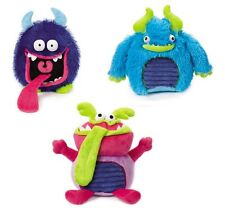 Toys for Dogs - Grunting Buglies Monster Dog Toy - Pick From 3 Crinkle Monsters