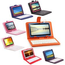 "iRulu eXpro 7"" Android 4.4 Quad Core 8GB Tablet PC Dual Cams w/ Colors Keyboard"