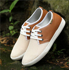 New Fashion Men's Breathable canvas Loafer casual sneakers Flat Athletic shoes