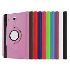 360 Degree Rotation PU Leather Folio Case Cover Stand for Samsung Galaxy Tablet
