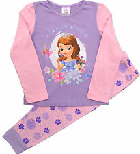 SOF50 Girls Disney Princess Sofia The First Pyjamas Sizes 12 Months to 5 Years