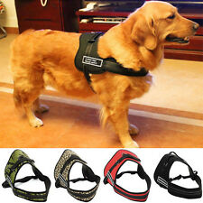 NEW Soft Padded Adjustable Harness Vest - Large Pet Dog Sport Working Trainning