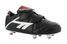 Hi-Tec Pro League Si Black Screw In Studs Football Sport Boys Boots UK10-6