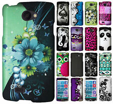 For LG Lancet Rubberized HARD Protector Case Snap On Phone Cover + Screen Guard