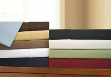 Sheet Set 530-Thread Ultra Soft Egyptian Cotton Deep Pocket, 10 Colors