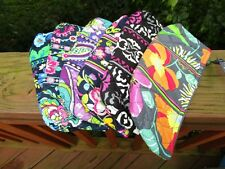 VERA BRADLEY Brush and Pencil Cosmetic Case NEW NWT TAGS School FREE SHIPPING