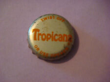 BEER Bottle Crown Cap ~^^~ PepsiCo TROPICANA Soft Drinks Founded 1947 in Florida
