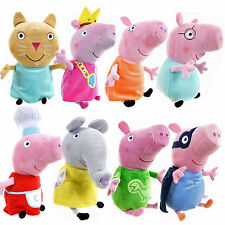 "OFFICIAL 10"" PEPPA PIG PLUSH FUN KIDS TOY CUDDLY CUTE SOFT XMAS GIFT BUDDY NEW"