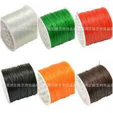 Vogue 0.6mm/0.8mm/1.0mm Elastic Line Rope Beading Wire Jewelry Wrap Craft Wire
